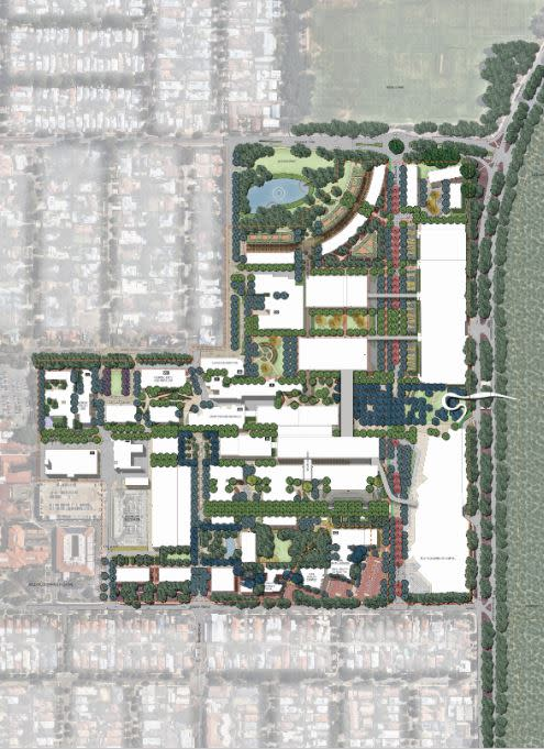 The Masterplan for the QEIIMC Medical Centre