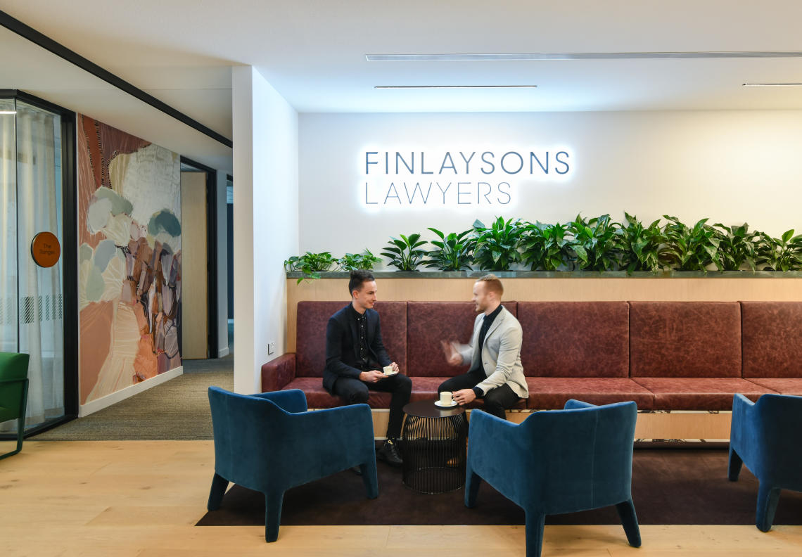 Finlaysons Lawyers new workplace
