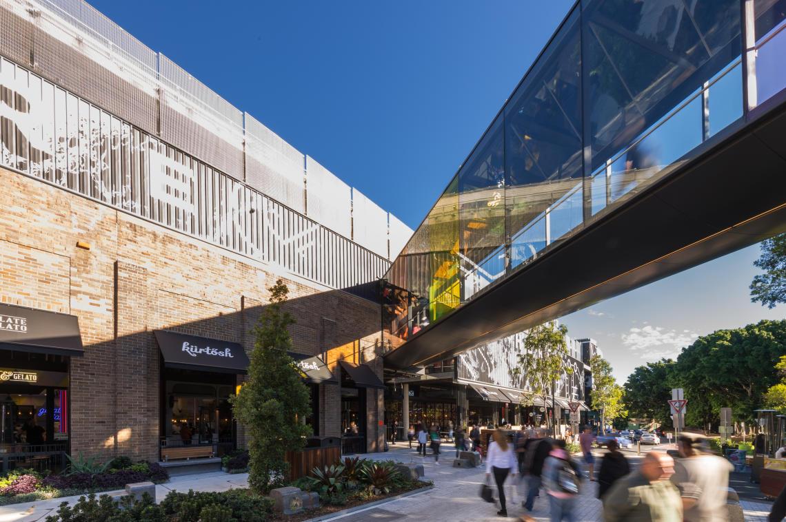 Rendering of Marrickville Metro Shopping Centre Design