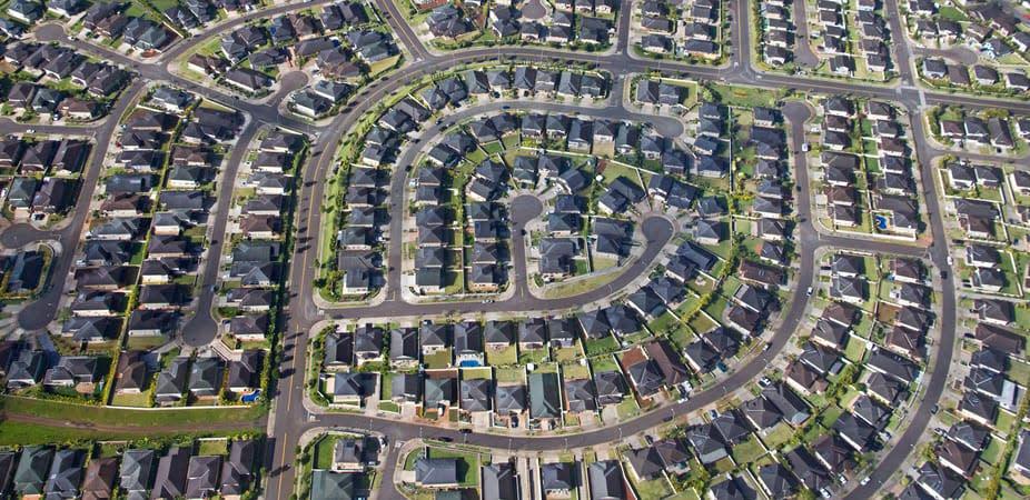 The sameness of Australian urban developments