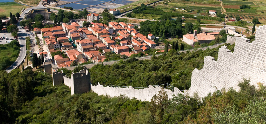 The Walls of Ston in Croatia