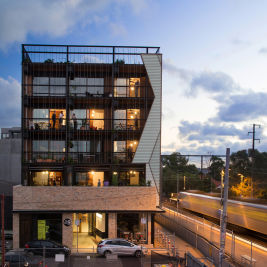 Thumbnail for the article 'Waterline Apartments' by Jacinta Houzer