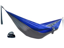 The Classic SERAC camping hammock and suspension system