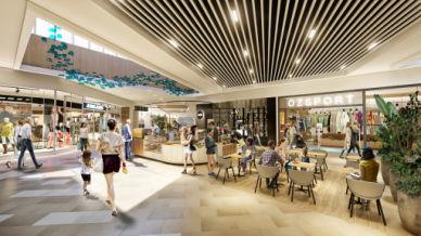 Interior rendering of Karingal Hub Shopping Centre Redevelopment | Retail Architecture