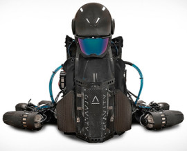 Jet suit by Gravity Industry