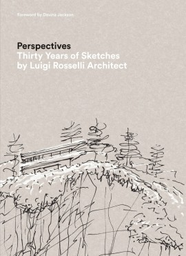 Cover of 'Perspectives: Thirty Years of Sketches by Luigi Rosselli Architect'