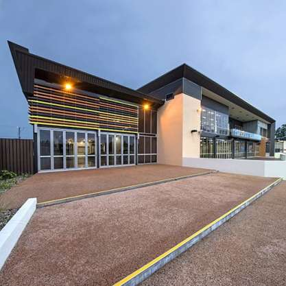 A Sport & Recreation Project - Michael Long Learning & Leadership Centre, Darwin, Northern Territory, by Hames Sharley