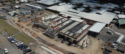 Hames Sharley News Article: Hervey Bay Hospital Emergency Department comes out of the ground