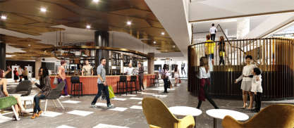 Hames Sharley News Article: A Revitalisation of Adelaide's Rundle Mall Plaza