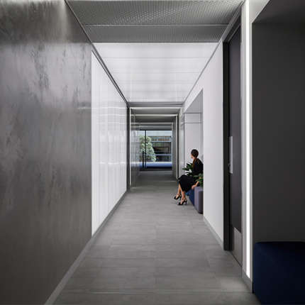 A Workplace Project - 240 St Georges End-of-Trip facility and tower lobbies, , by Hames Sharley