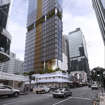 A Workplace Project - 320 George Street, Brisbane, by Hames Sharley