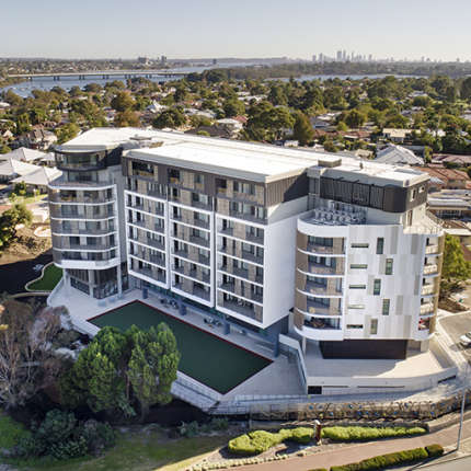 A Residential Project - Australis Apartments, Rossmoyne, Western Australia, by Hames Sharley
