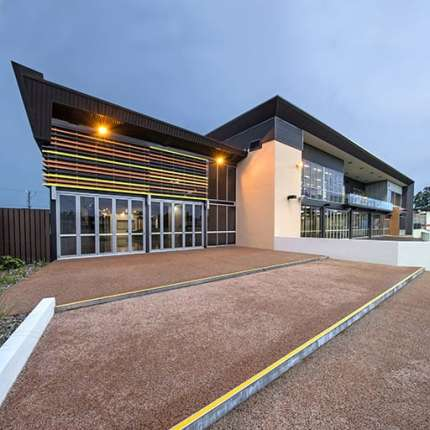 A Sport & Recreation Project - Michael Long Learning and Leadership Centre, Darwin, Northern Territory, by Hames Sharley