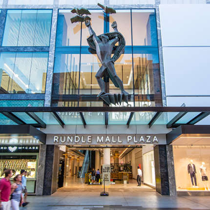 A Retail & Town Centres Project - Rundle Mall Plaza Redevelopment, Adelaide, by Hames Sharley