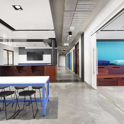 A Workplace Project - UWA Student Guild Central Hub, Crawley, Western Australia, by Hames Sharley