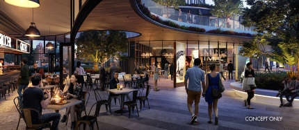 Hames Sharley News Article: Albion Train Station Precinct Redevelopment Announced