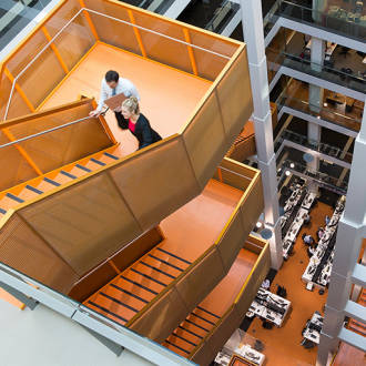 Thumbnail for the article 'Dare to stair…' by By Stephen Moorcroft, Workplace Portfolio Leader