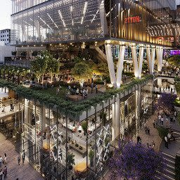 A Retail & Town Centres Project in Perth CBD, Western Australia by Hames Sharley