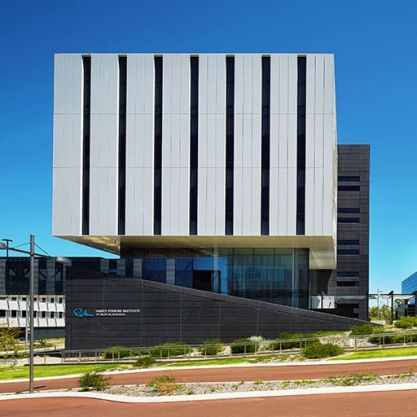 A Tertiary Education, Science & Research Project - Harry Perkins Institute of Medical Research (South), Fiona Stanley Hospital, Murdoch, Western Australia, by Hames Sharley