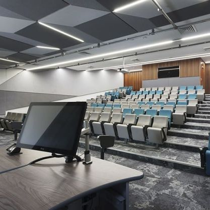 A Workplace Project - Edith Cowan University Lecture Theatre, Mount Lawley, Western Australia, by Hames Sharley