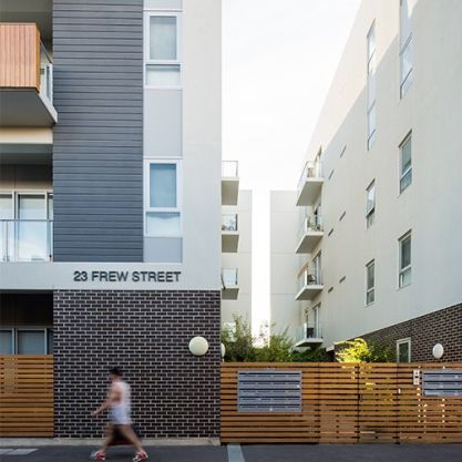 A Residential Project - Ergo Apartments, Adelaide CBD, SA, by Hames Sharley