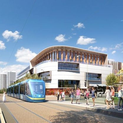 A Urban Development Project - MAX Light Rail, Perth Metropolitan Area (with northern and city focus for Light Rail), by Hames Sharley