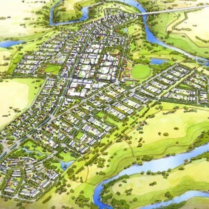 A Urban Development Project - Molonglo Valley Stage 2, Canberra, ACT, by Hames Sharley