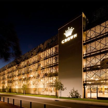 A Public & Culture Project - Crown Perth Car Park, Burswood, Perth, by Hames Sharley