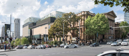 Hames Sharley News Article: Hames Sharley collaborates with Australian Museum on $285 million master plan