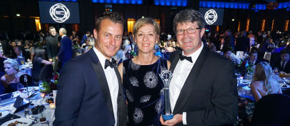 Hames Sharley News Article: Top honours at Newcombe Medal for Hames Sharley Director