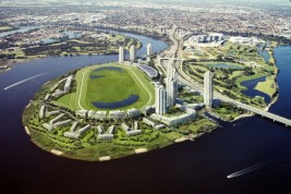 Feature image for the article 'Perth's Burswood peninsula and the role of specialised activity centres in sustainable cities'