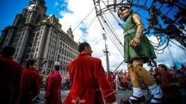 Feature image for the article 'Six essential lessons from Perth's free, once-in-a-lifetime cultural event, the Giants' by Rebecca Spencer with Cara Westerman