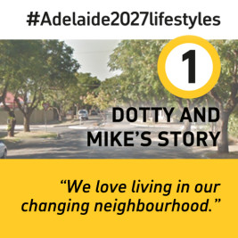 Feature image for the article 'Middle Metro Suburbs: Dotty and Mike's Story' by Andrew Russell