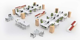 Feature image for the article 'The evolution of activity-based workplaces' by Ben Hurley