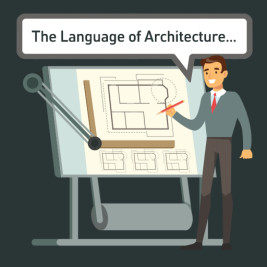 Feature image for the article 'The language of architecture' by Jack Belfer