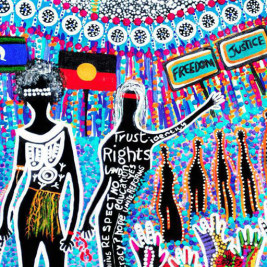 Feature image for the article 'Celebrating NAIDOC Week through design'