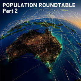 Feature image for the article 'Part Two: Shifts in Population Growth' by Caillin Howard, Yaara Plaves and Tim Boekhoorn