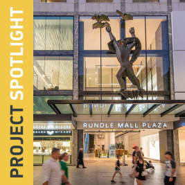 Feature image for the article 'Rundle Mall Plaza, Adelaide'