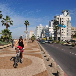Feature image for the article 'One sweaty cyclist at a time… How cycling is transforming Tel Aviv'