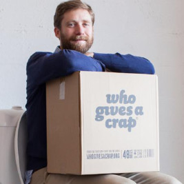 Feature image for the article 'Who gives a crap? A lot of us, apparently' by Vanessa McDaid