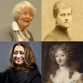 Feature image for the article 'From the pioneers to the modern-day – some of architecture's greatest females'
