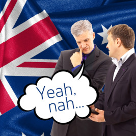 Feature image for the article 'Yeah, nah – Aussie Slang at work' by Vanessa McDaid