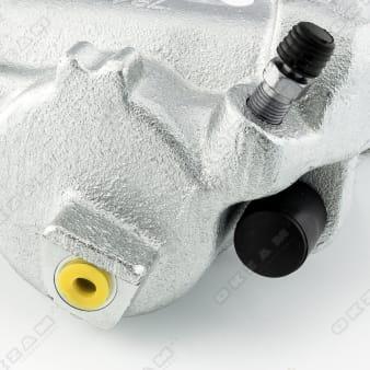 Bremssattel Bremszange Faustsattel mit Haltefeder vorne rechts für VW TIGUAN 5N