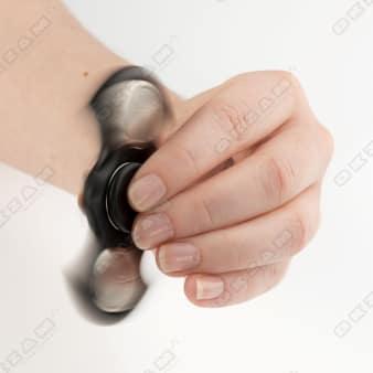 Fidget Spinner Fledermaus schwarz Hand Dreher Kreisel Finger Entspannung ADHS Overig