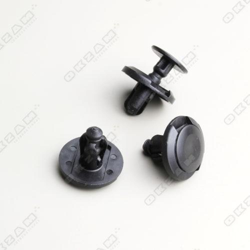 Spritzschutz für Mitsubishi /& Subaru Kühlergrill 10X Zierclips Stoßstangen