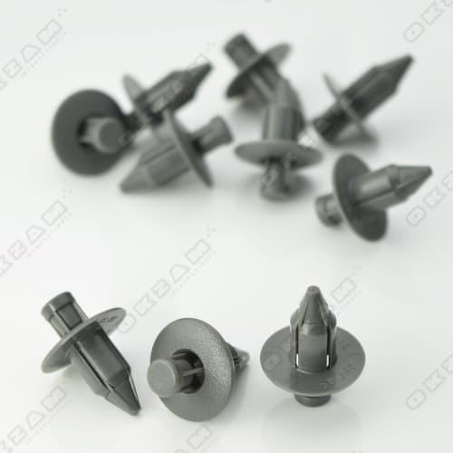 10x Heckklappen Hecktür Verkleidung Befestigung Clips für TOYOTA *NEU*