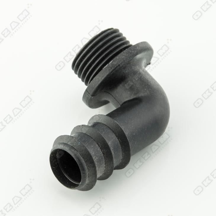 """10x Verbinder L-Stück 90° Winkel 20x1//2/"""" PE-Reduzierstück Bewässerungssystem"""