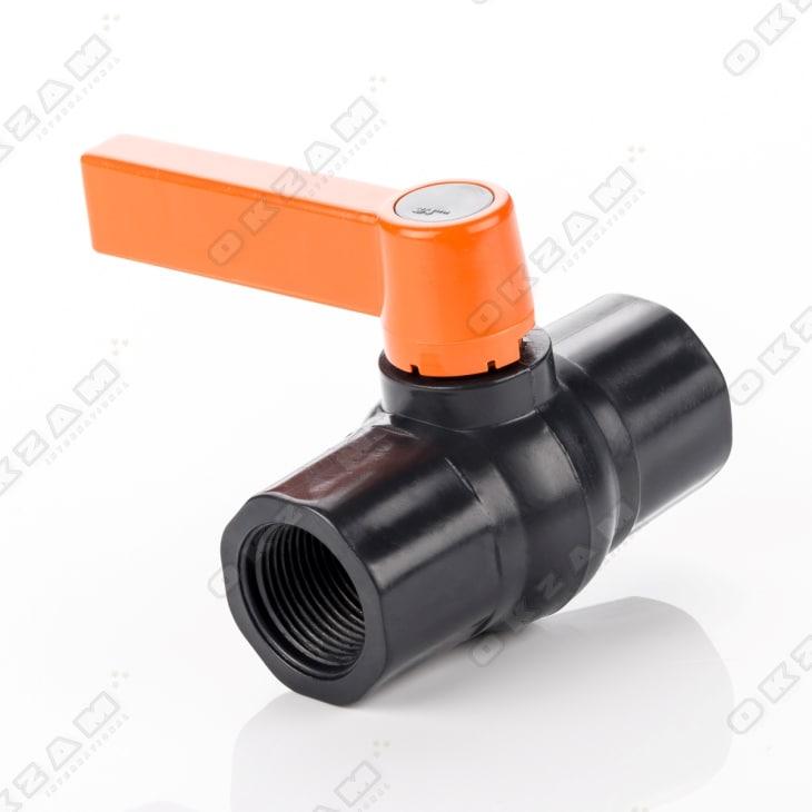 """Kugelhahn Absperrhahn Ventil Schlauchverbinder Schraubsystem PE-Rohr 3//4/"""" IG"""