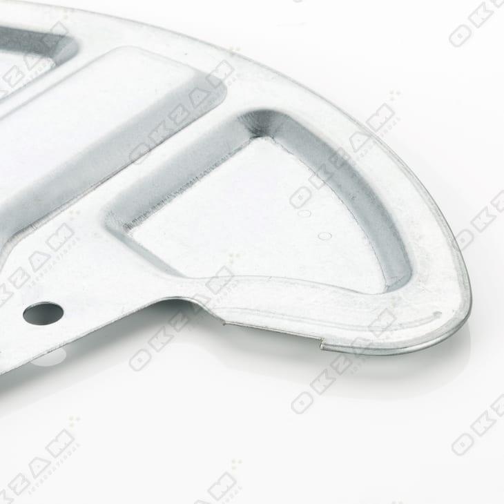 ABS 2x Ankerblech Schutzblech Bremsscheibe Bremse VL VR für VOLVO 740 760 780 o