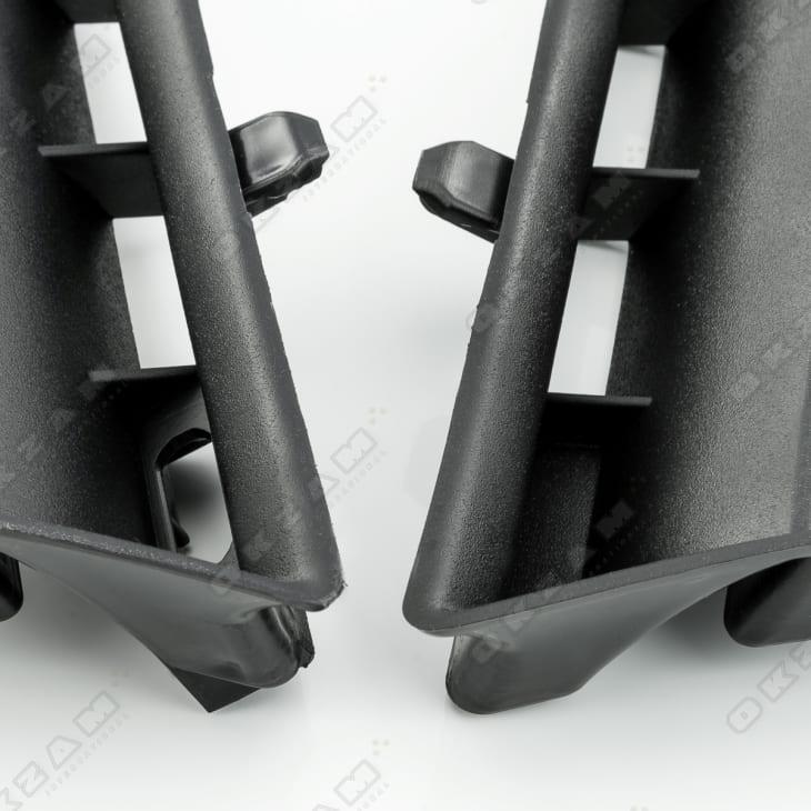 Lüftungsgitter obere Stoßstangen Gitter links und rechts für RENAULT MEGANE 2 II